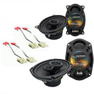 Chevy Camaro 1982-1992 Factory Speaker Upgrade Harmony R46 R69 Package New