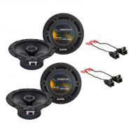 Chevy Camaro 1993-2002 Factory Speaker Replacement Harmony (2) R65 Package New