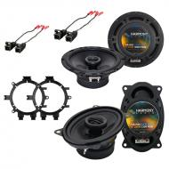 Chevy Silverado Pickup Classic 2007 OEM Speaker Upgrade Harmony R5 R46 Package