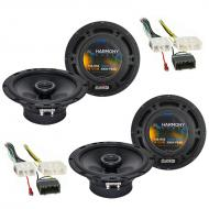 Chrysler Aspen 2007-2007 Factory Speaker Upgrade Harmony (2) R65 Package New