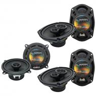 Dodge Caravan 2002-2007 OEM Speaker Upgrade Harmony (2)R69 R5 Package New