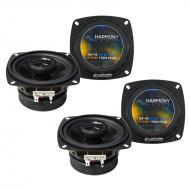 Volvo 760 Series 1985-1992 Factory Speaker Upgrade Harmony (2) R4 Package New