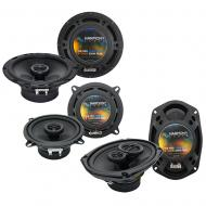 Volvo C70 1998-2002 Factory Speaker Replacement Harmony Upgrade Package New