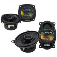 Fiat X19 1985-1988 Factory Speaker Replacement Harmony R4 R46 Package New