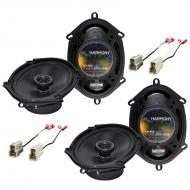 Ford Contour 1995-2000 Factory Speaker Replacement Harmony (2) R68 Package New