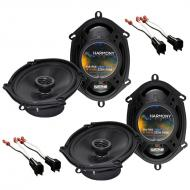 Ford Excursion 2000-2005 Factory Speaker Upgrade Harmony (2) R68 Package New