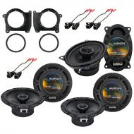 GMC Jimmy 1995-2001 OEM Speaker Replacement Harmony (2) R65 R46 Package New