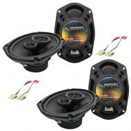 GMC S-15 Jimmy 1982-1985 OEM Speaker Replacement Harmony R46 R69 Package New