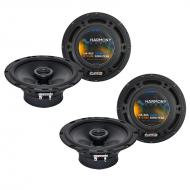 Audi TT 2000-2015 Factory Speaker Replacement Harmony (2) R65 Coax Package New