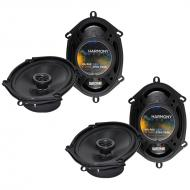 Ford Freestyle 2005-2007 Factory Speaker Upgrade Harmony (2) R68 Package New
