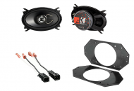"Jeep Wrangler TJ 1997-2004 Kicker KS46 Factory 4x6"" Front Coaxial Replacement Speaker Pair"