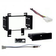 Nissan Rogue S 2012 2013 w  Special Edition Pkg Stereo Harness Radio Dash Kit