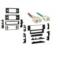Nissan Stanza 1987 1988 1989 1990 1991 1992 Single DIN Stereo Harness Radio Install Dash Kit Package
