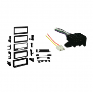 Cadillac Seville 1984 1985 1986 1987  Single DIN Stereo Harness Radio Install Dash Kit Package