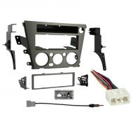 Subaru Legacy 2005 2006 2007 2008 2009 without Auto Climate Single DIN Stereo Harness Radio Dash Kit