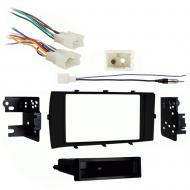 Toyota Prius C 2012 2013 2014 2015 2016 2017  Single DIN Stereo Harness Radio Install Dash Kit
