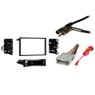Chevy Blazer 2003 2004 2005 Double DIN Stereo Harness Radio Install Dash Kit Package