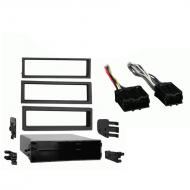 Volvo 850 Series 1993 1994 1995 1996 1997 Single DIN Stereo Harness Radio Install Dash Kit Package