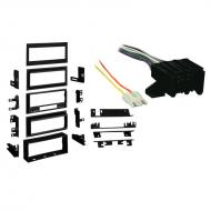 Chevy S 10 Blazer 1982 1983 1984 1985 1986 1987  Single DIN Stereo Harness Radio Install Dash Kit...