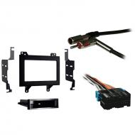 Chevy S 10 Pickup 1994 1995 1996 1997 Double DIN Stereo Harness Radio Install Dash Kit Package