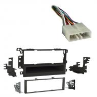Geo Metro 1992 1993 1994 1995 1996 1997 Single DIN Aftermarket Stereo Harness Radio Install Dash Kit