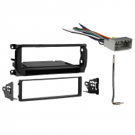 Jeep Liberty 2002 2003 2004 2005 2006 2007  Single DIN Stereo Harness Radio Install Dash Kit Package