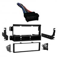 Kia Amanti 2004 2005 2006 Single DIN Stereo Harness Radio Install Dash Kit Package