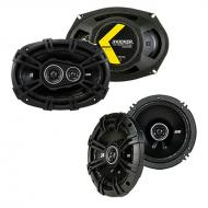 Nissan Xterra 2005-2008 Factory Speaker Upgrade Kicker DSC65 DSC693 Package New