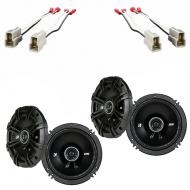 Subaru Outback 2000-2004 Factory Speaker Upgrade Kicker (2) DSC65 Package New