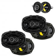 Toyota Camry 2007-2011 Factory Speaker Upgrade Kicker DSC693 DSC35 Package New