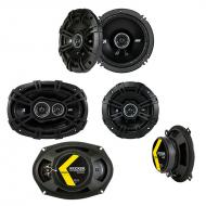 Cadillac DeVille 2000-2005 Factory Speaker Upgrade Kicker DS Series Package New