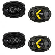 Dodge Caliber 2007-2012 Factory Speaker Upgrade Kicker (2) DSC693 Package New