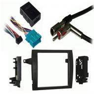 Cadillac Catera 1997 1998 1999 2000 2001 Double DIN Stereo Harness Radio Install Dash Kit Package