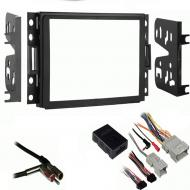 Hummer H3 2006 2007 2008 2009 2010 Double DIN Aftermarket Stereo Harness Radio Install Dash Kit