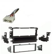 Chevy S 10 Pickup 2003 2004 Single DIN Stereo Harness Radio Install Dash Kit Package