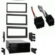 Volvo C70 Convertible 2003 Single DIN Stereo Harness Radio Install Dash Kit Package