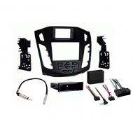 Ford Focus 2012 2013 2014 Single or Double DIN Stereo Harness Radio Install Dash Kit