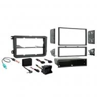 Volkswagen Golf & R 2010 2011 2012 2013 2014  Single or Double DIN Stereo Radio Install Dash Kit