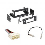 Cadillac Escalade 1999 2000 2001 2002  Single DIN Stereo Harness Radio Install Dash Kit Package