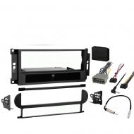 Jeep Patriot 2007 2008 Single DIN Stereo Harness Radio Install Dash Kit Package