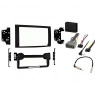 Jeep Compass 2007 2008 Double DIN Stereo Harness Radio Install Dash Kit Package