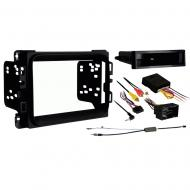 Jeep Cherokee 2014 2015 2016  Single or Double DIN Stereo Radio Install Dash Kit New