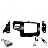 Honda Fit 2015 2016 2017 Double DIN Stereo Harness Radio Install Dash Kit Package New