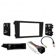 Audi A6 2000 2001 Single or Double DIN Stereo Harness Radio Install Dash Kit New