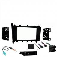 Mercedes CLK Class 2004 Single DIN Stereo Harness Radio Install Dash Kit Package