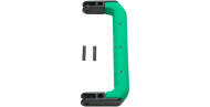"""SKB Cases 3i-HD81-GN 8.625"""" Large Replacement Colored Handle for iSeries Case - Green Overmold"""
