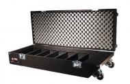 Odyssey Cases CCD320PW Classic Carpeted Pro DJ CD Case with Wheels