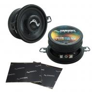"Harmony Audio HA-C35 Car Stereo Carbon 3.5"" Replacement 110W Audio Speakers Bundle with Harm..."