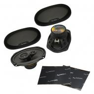 "Harmony Audio HA-R69 Car Stereo Rhythm Series 6x9"" Replacement 450W Speakers Bundle with Har..."