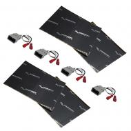 Harmony Audio (2) HA-727800 Factory Speaker Replacement Harness Bundle with Sound Dampening Speak...